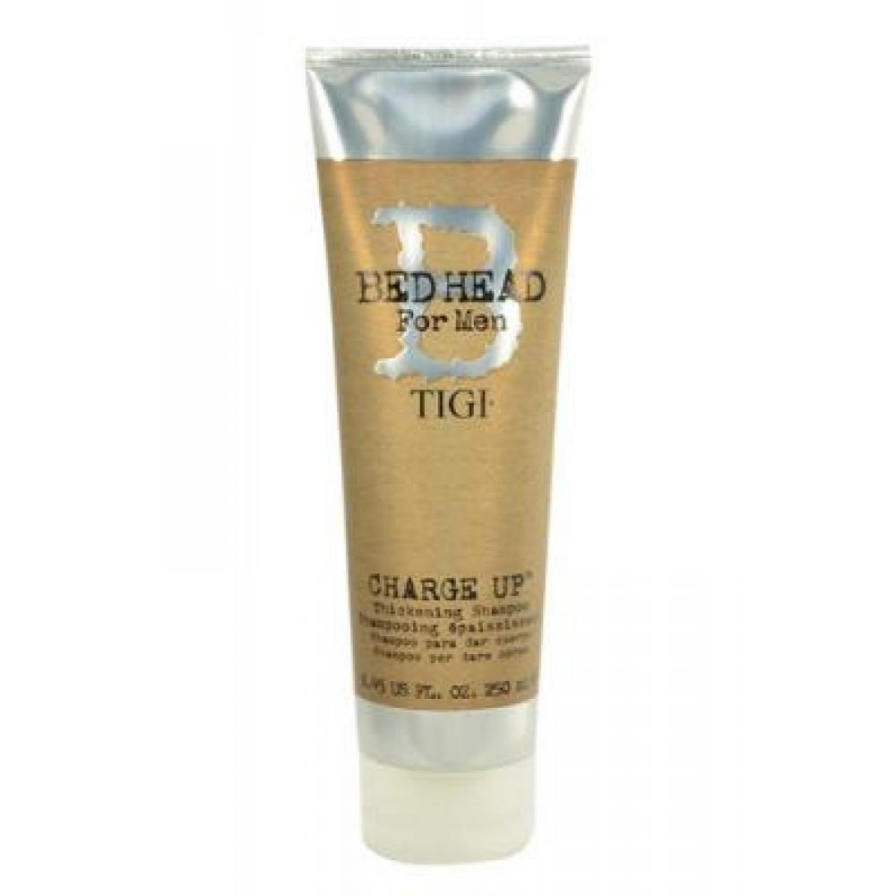 Tigi Bed Head Men Charge Up Shampoo 250ml Šampon pro zvětšení objemu vlasů