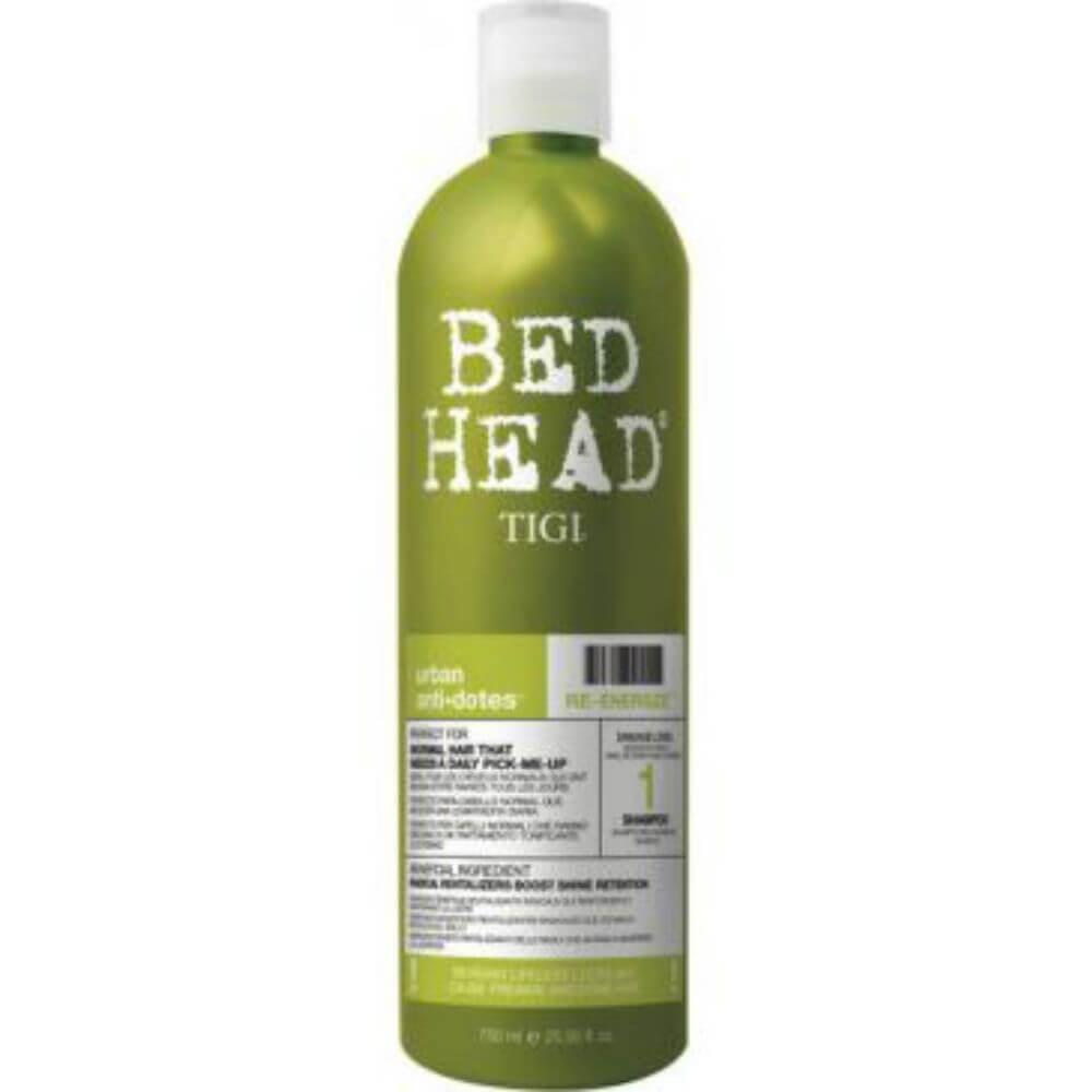 Tigi Bed Head Re-Energize Shampoo 750ml Revitalizující šampon