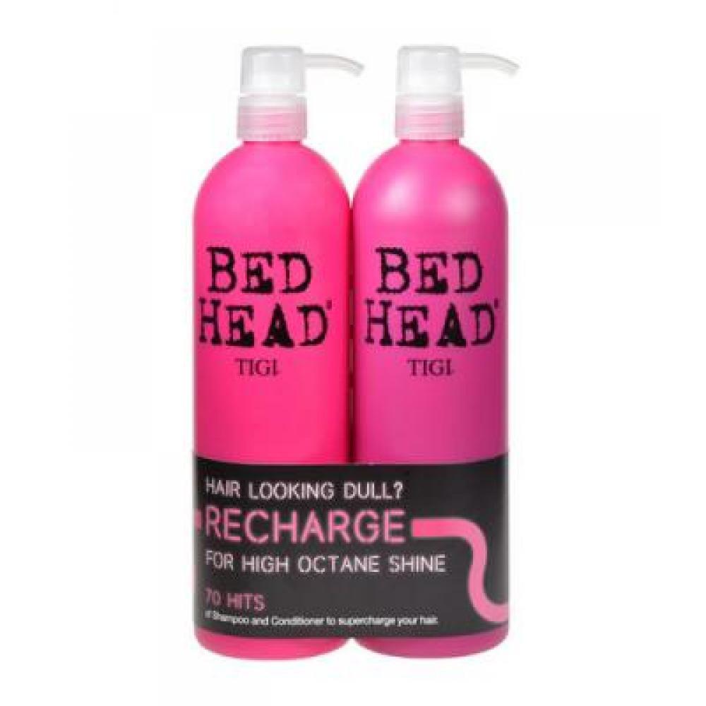 TIGI Bed Head Recharge High Octane Shampoo 1500 ml Recharge Shampoo 750 ml + 750 ml