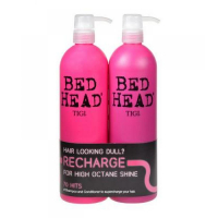 TIGI Bed Head Recharge High Octane Shampoo 1500 ml Recharge Shampoo 750 ml + 750 ml
