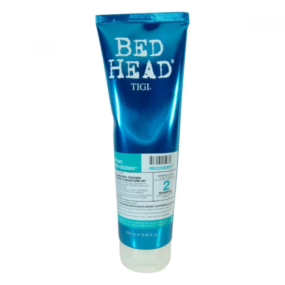 Tigi Bed Head Recovery Shampoo 250ml Šampon pro silně poškozené vlasy