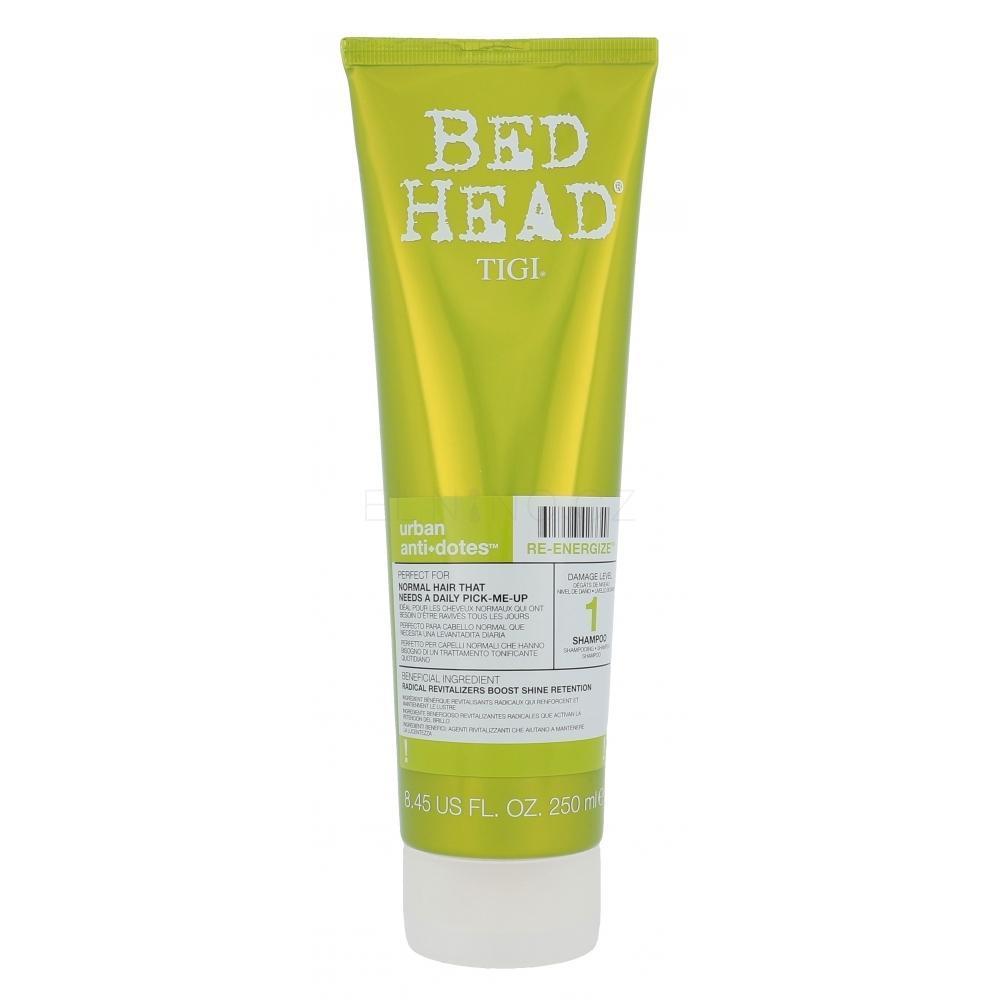 Tigi Bed Head Re-Energize Shampoo 250ml Revitalizující šampon