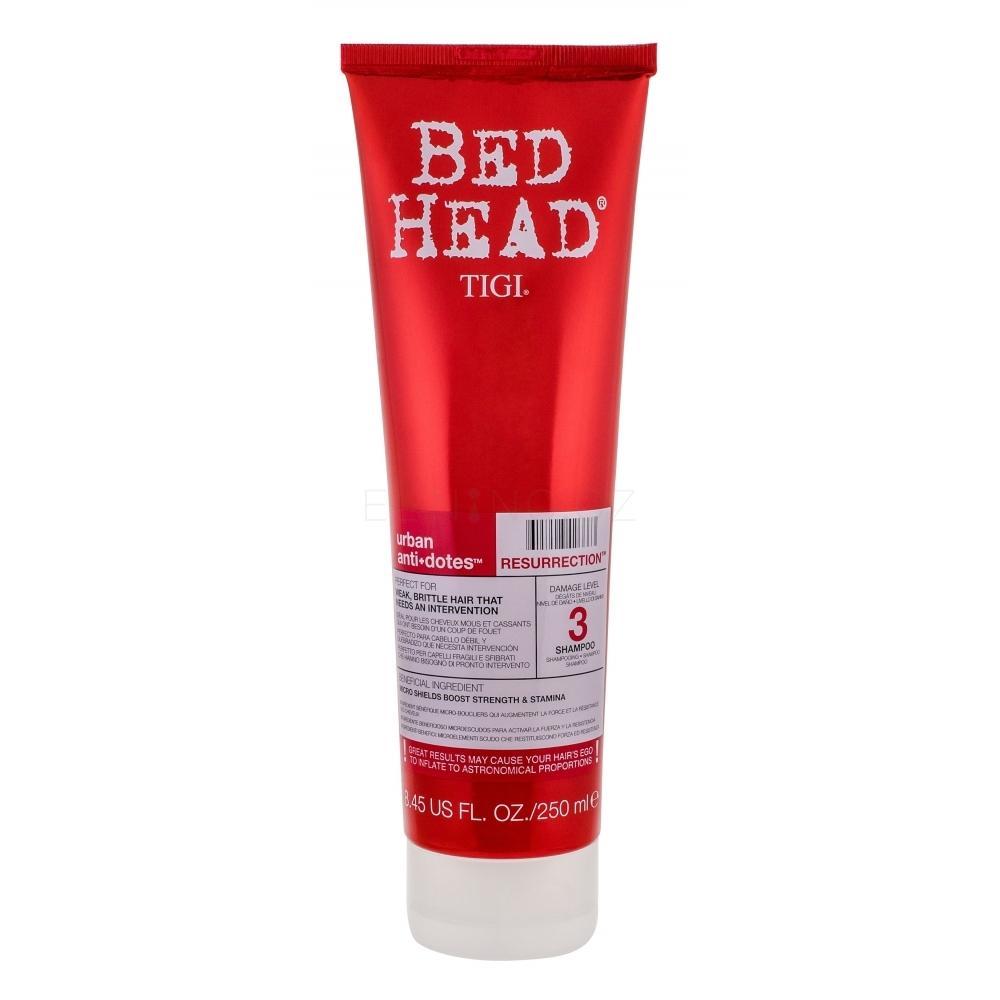 Tigi Bed Head Resurrection Shampoo 250ml Šampon pro velmi oslabené vlasy