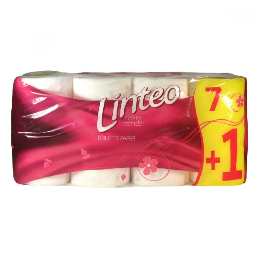 LINTEO Dvouvrstvý toaletní papír Classic 8 kusů
