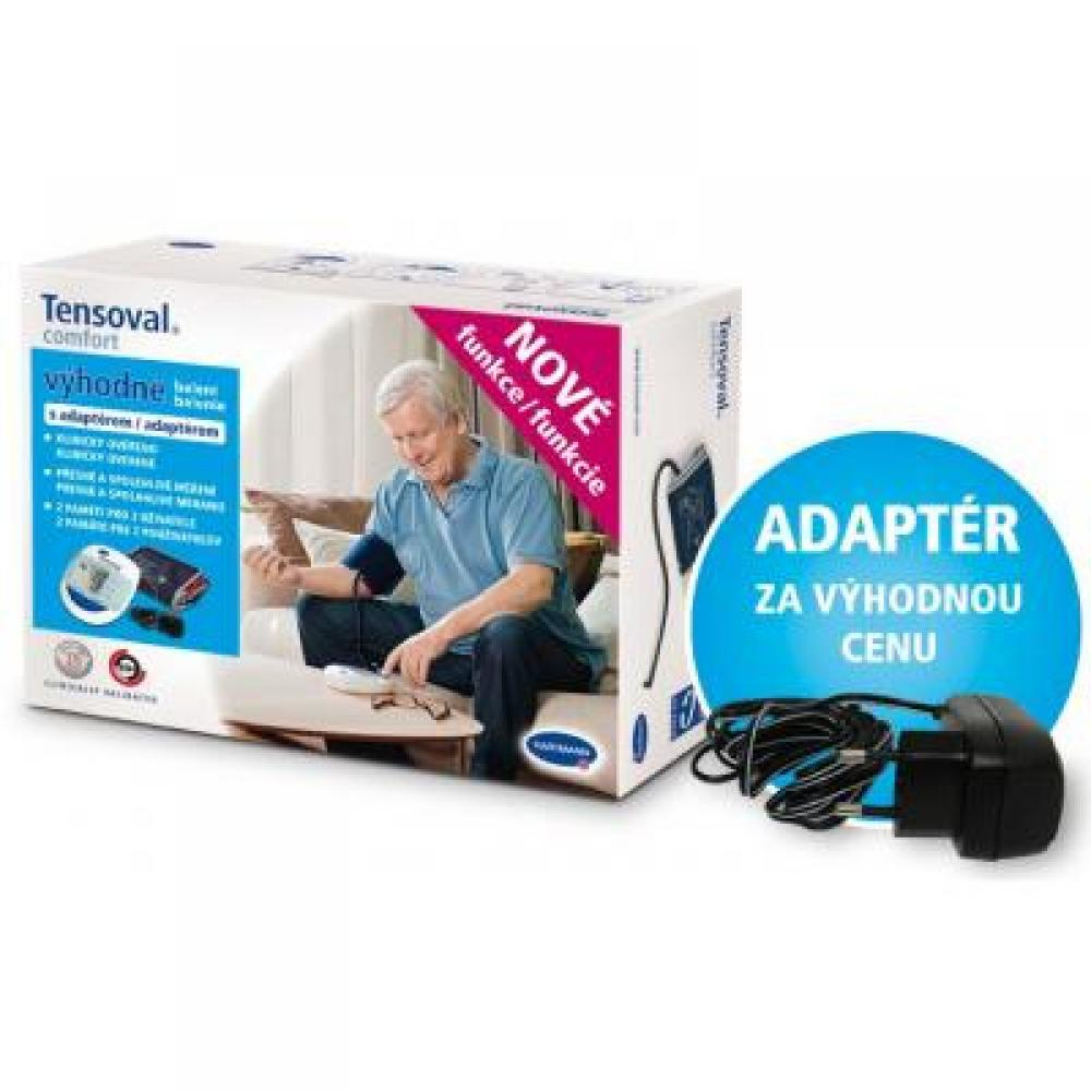 TENSOVAL Digitální tonometr Comfort s manžetou M + adaptér