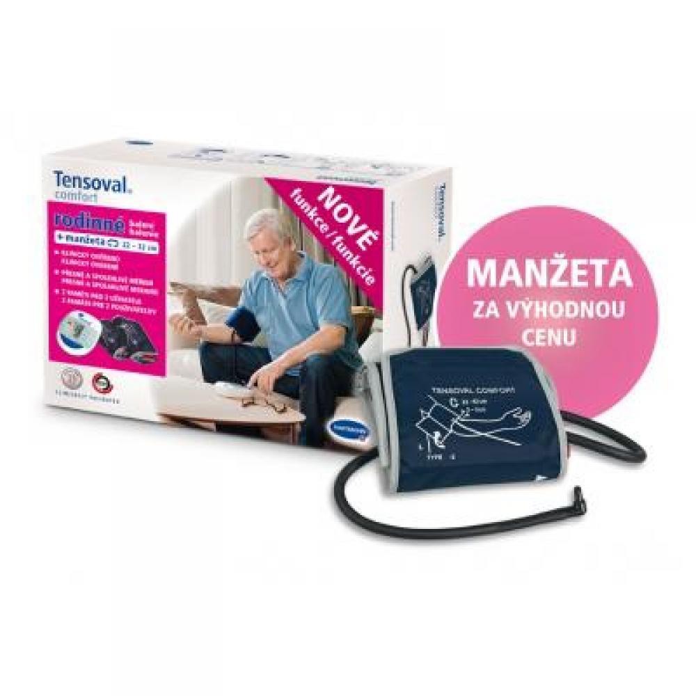 TENSOVAL Digitální tlakoměr Comfort Family 2 (manžety M+L)
