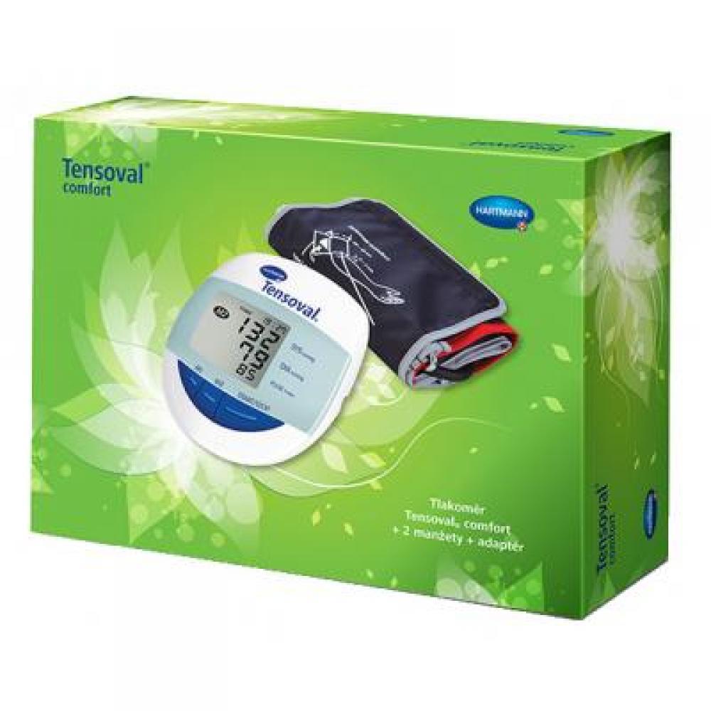 TENSOVAL Comfort – dárkové balení s adaptérem a 2 manžetami