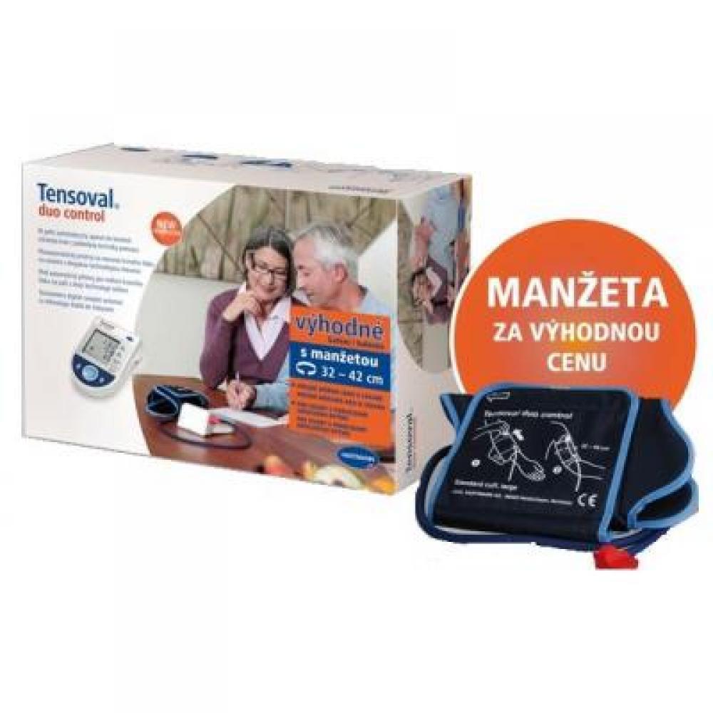 TENSOVAL Digitální tlakoměr Duo Control Family (manžety M+L)