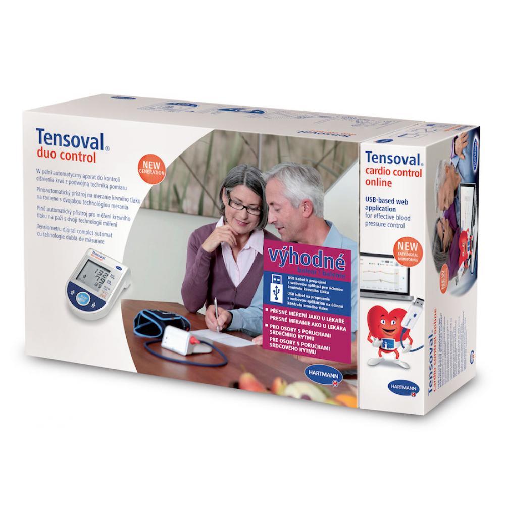 TENSOVAL Digitální tlakoměr Duo Control L + USB