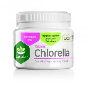 TOPNATUR Chlorella original 250 tablet