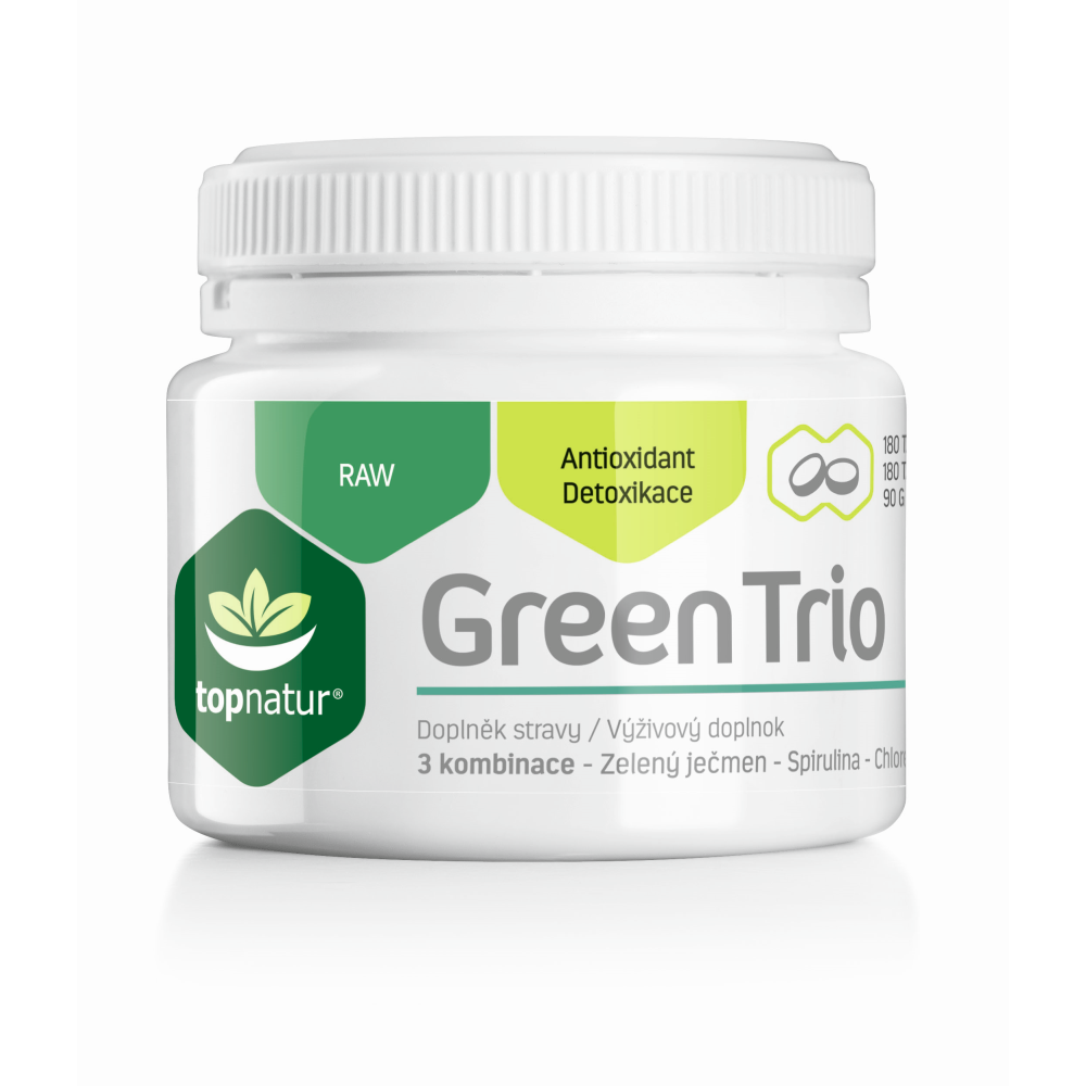 TOPNATUR Green Trio 180 tablet