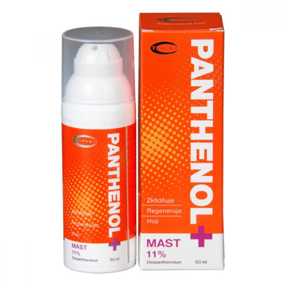 Topvet Panthenol+ mast 11% 50 ml