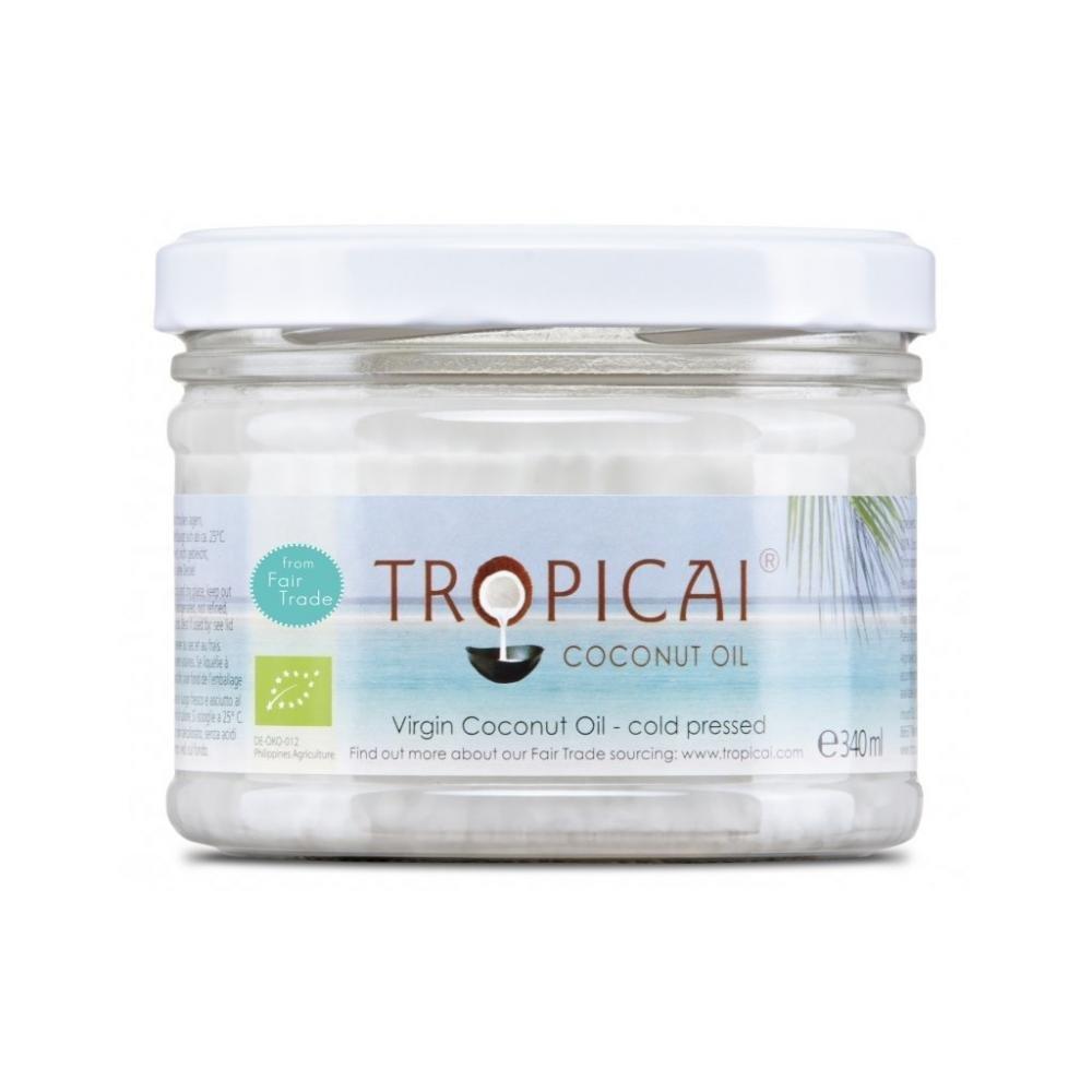TROPICAI Kokosový panenský olej bio 340 ml