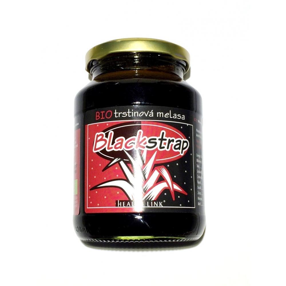 HEALTH LINK Třtinová melasa Blackstrap BIO 600 g