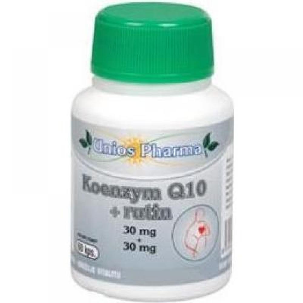 Uniospharma Koenzym Q10 30mg+rutin