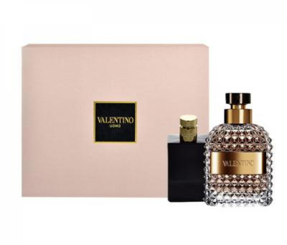 Valentino Valentino Uomo Toaletní voda 100ml Edt 100ml + 100ml balsám po holení
