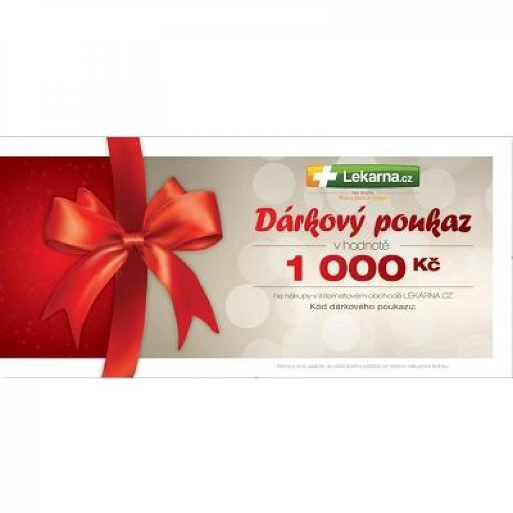 Dárkový poukaz pro Vaše milé 1000 Kč