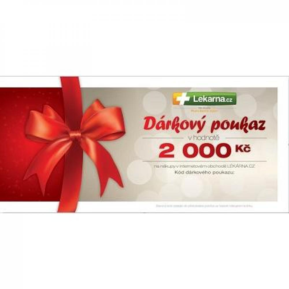 Dárkový poukaz pro Vaše milé 2000 Kč