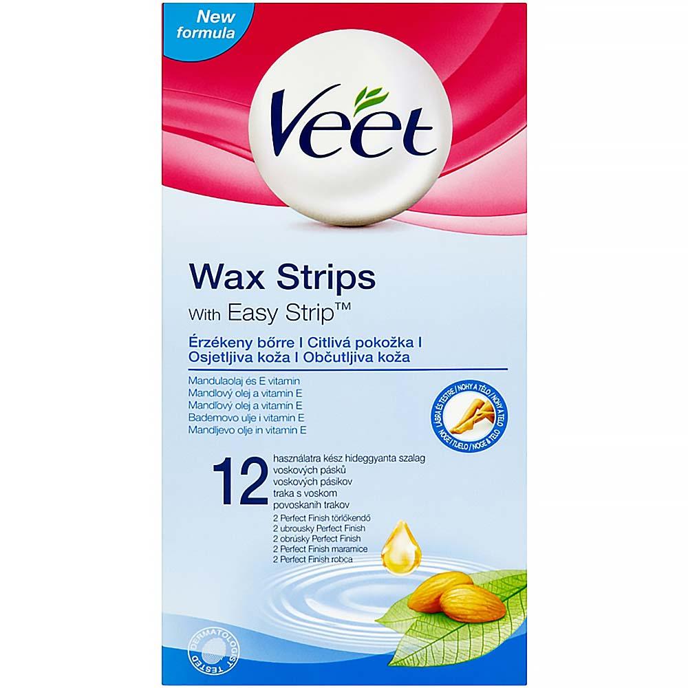Veet voskové pásky pro citlivou pokožku 12 ks