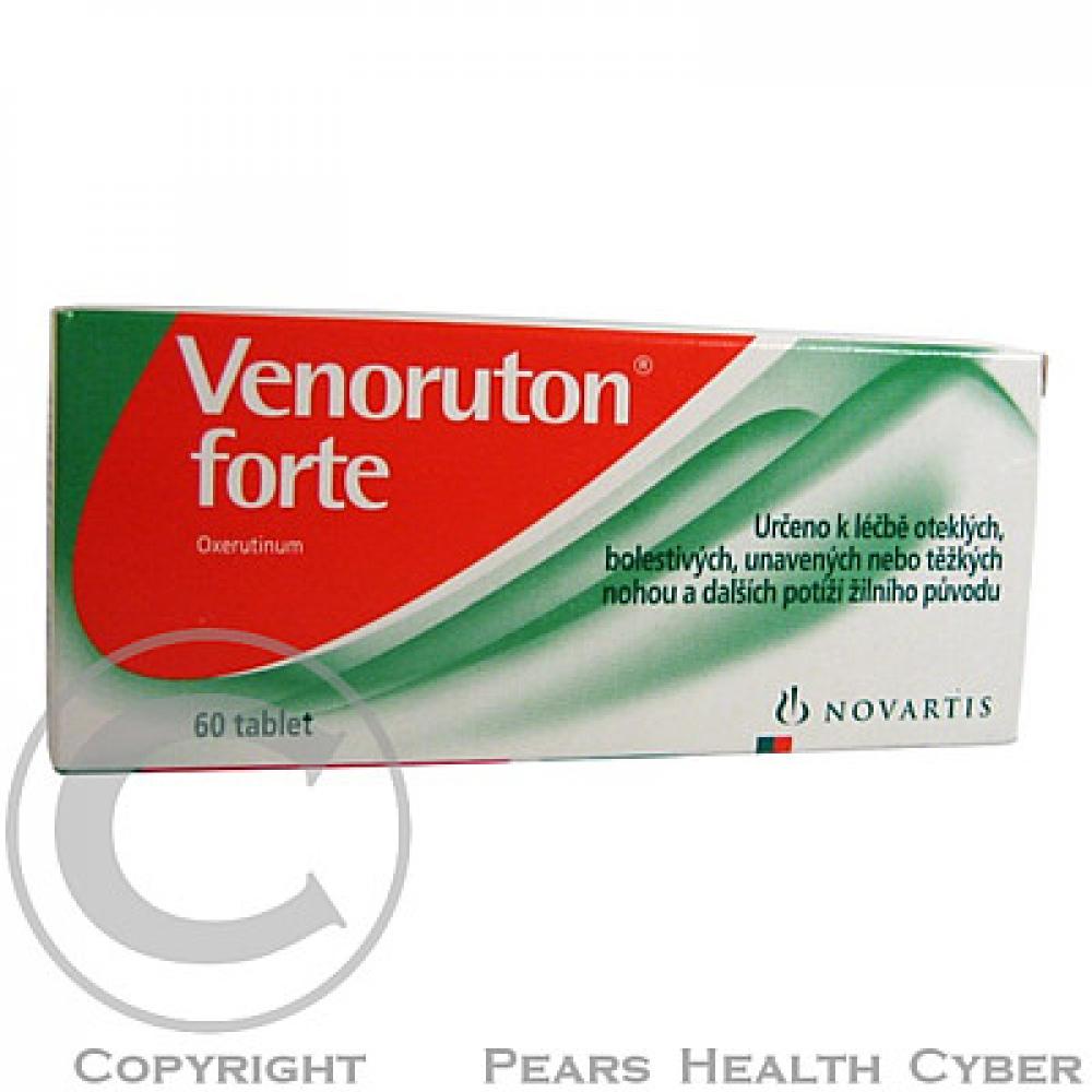 VENORUTON FORTE 60X500MG Tablety