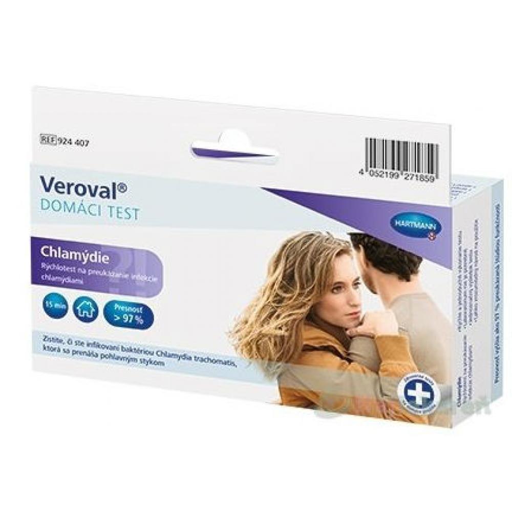 VEROVAL Domácí test Chlamydie