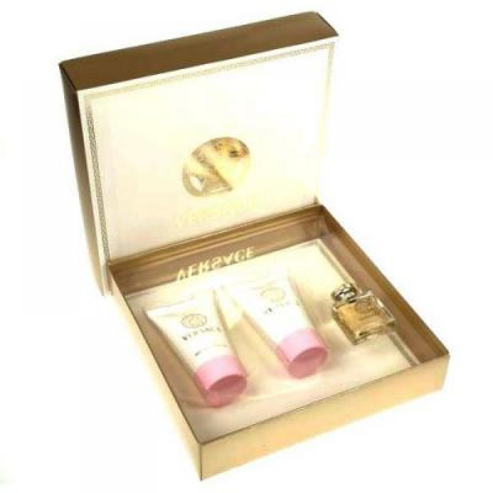 Versace Eau De Parfum Parfémovaná voda 5ml Edt 5ml + 25ml tělové mléko + 25ml sprchový gel