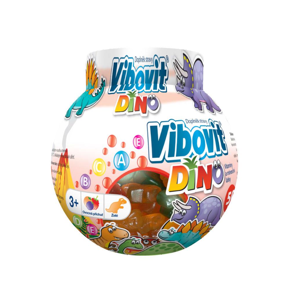 VIBOVIT DINO jelly 50 ks
