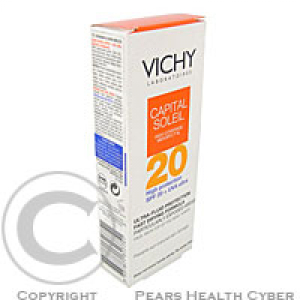 VICHY Capital Soleil Protection ultra-fluid - ochranná fluidní emulze SPF 20 40 ml
