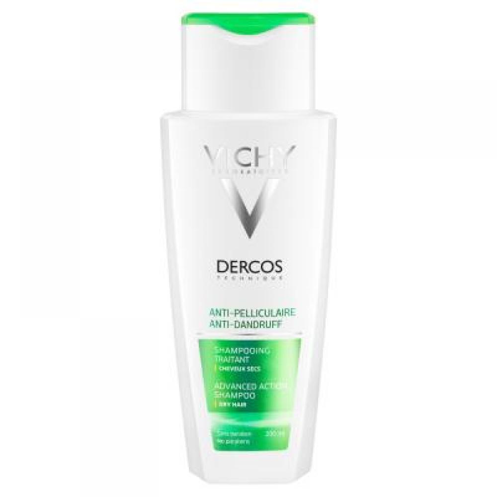 VICHY Dercos šampon proti lupům na suché vlasy 200 ml