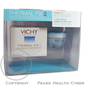 VICHY Thermal FIX2 50 ml + Thermal Fix oční Zdarma