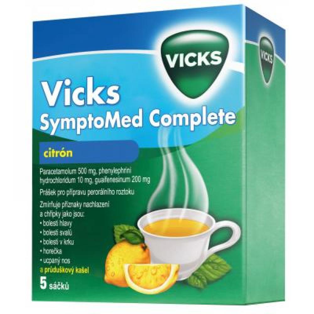 Vicks SymptoMed Complete citrón 5 sáčků