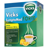 Vicks SymptoMed Forte citrón 10 sáčků