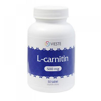 VIESTE L-carnitin 500 mg 50 tablet