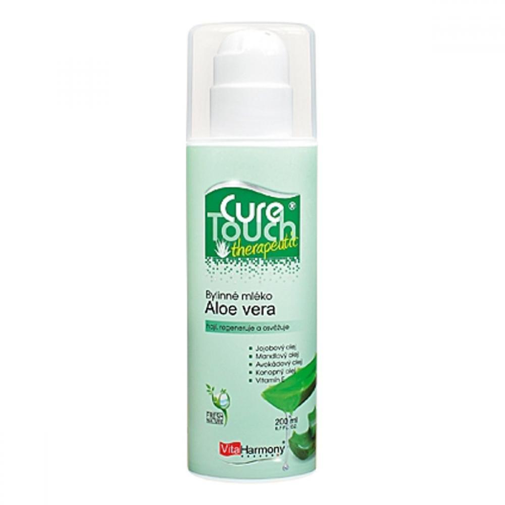 VitaHarmony Aloe vera-bylinné mléko 200ml