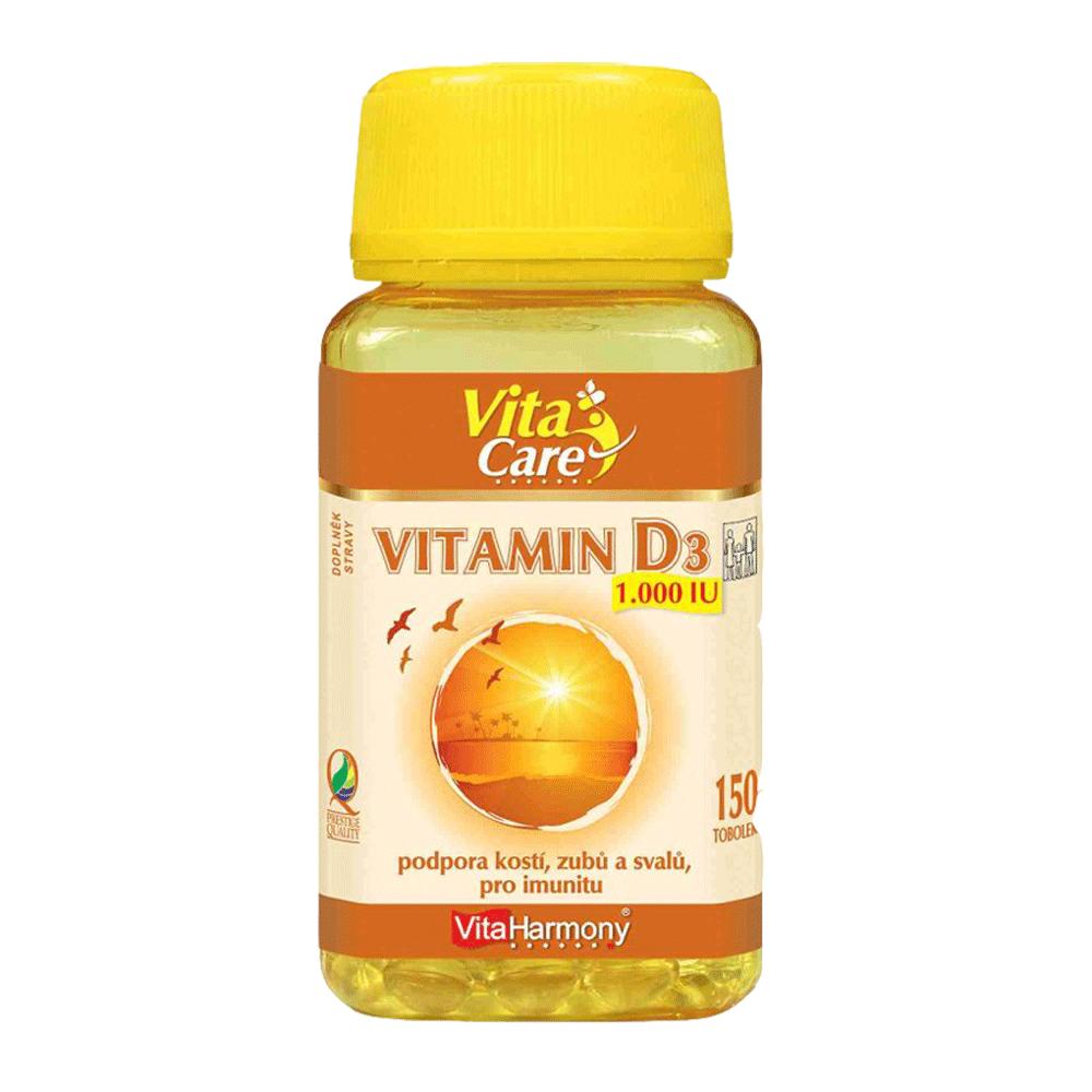 VITAHARMONY Vitamin D3 1000IU 150 tablet