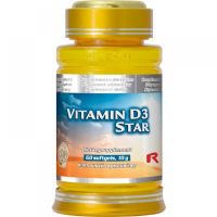 Vitamin D3 Star 60 tbl.