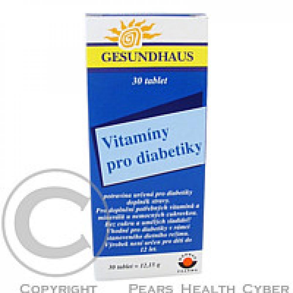 GesundHaus Vitaminy pro diabetiky 30 tablet
