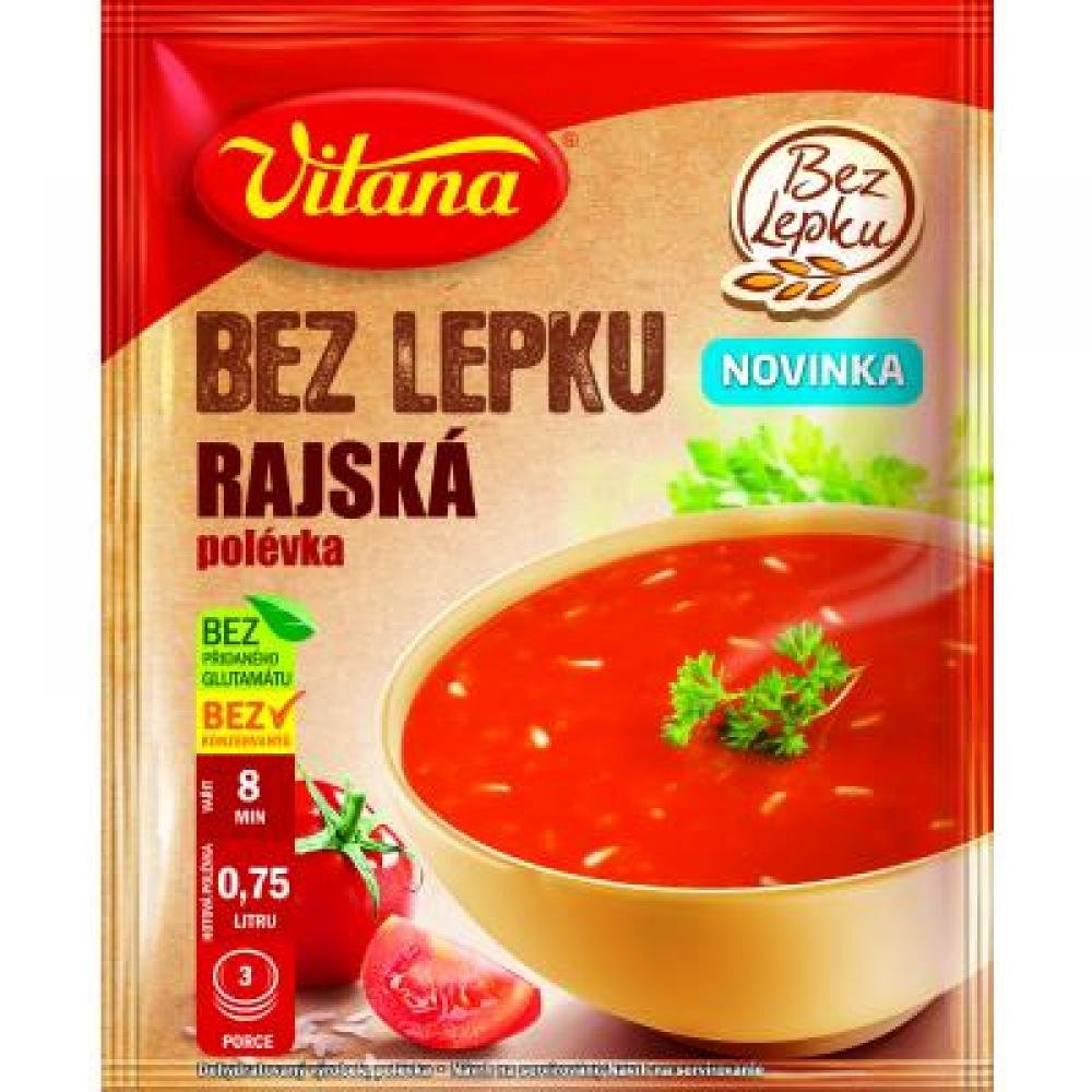 VITANA polévka bez lepku Rajská 76 g