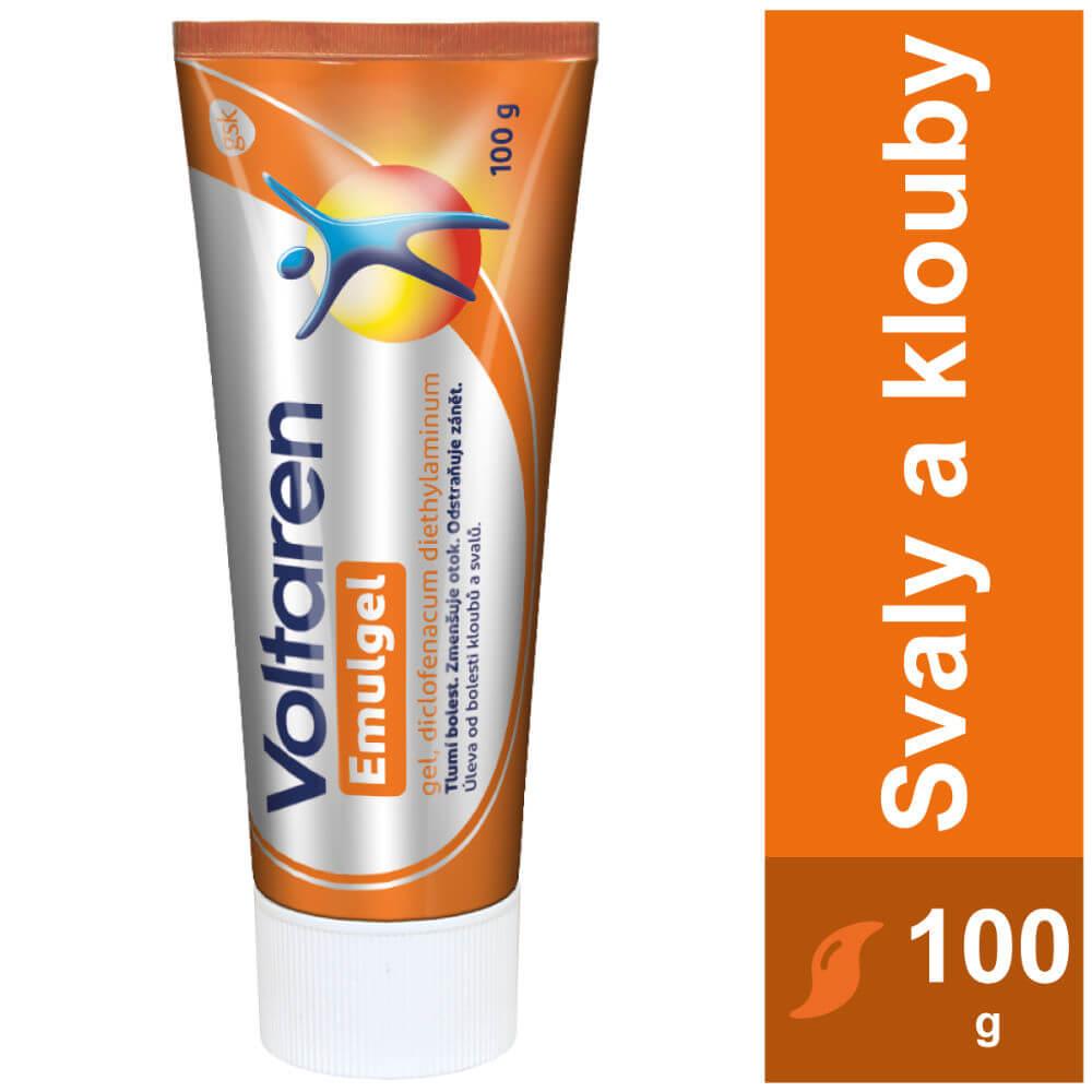 VOLTAREN Emulgel tuba 10mg/g gel 100 g