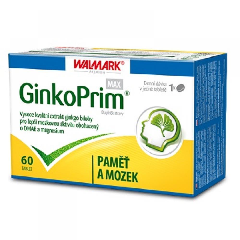 WALMARK GinkoPrim MAX 60 mg 60 tablet