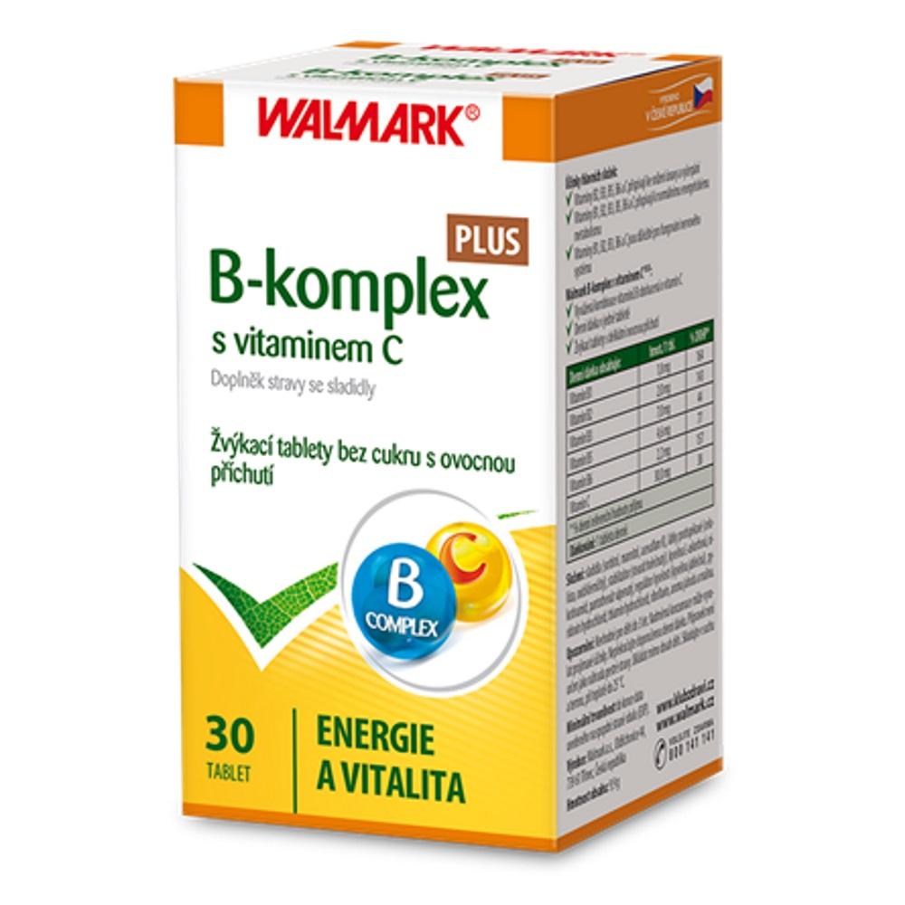 WALMARK B-komplex PLUS s vitaminem C 30 tablet