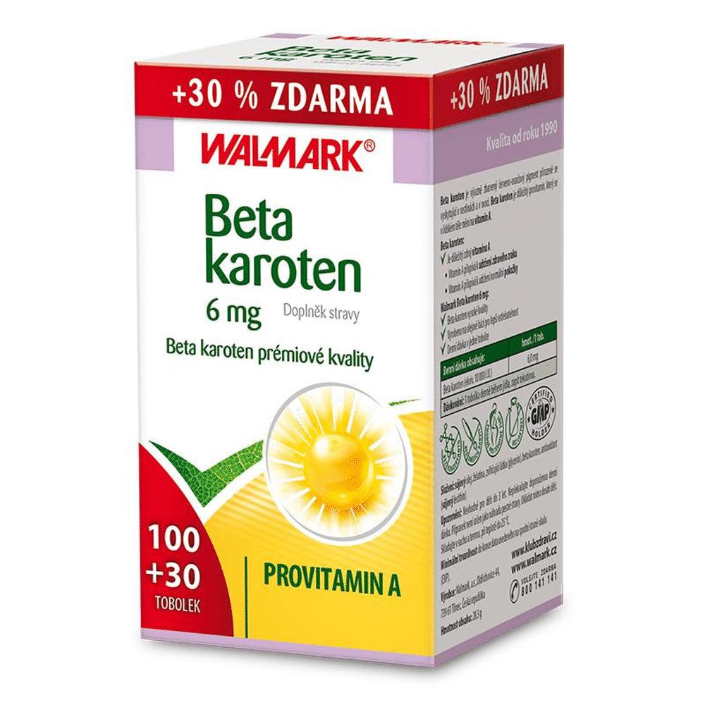 WALMARK Beta karoten 100 + 30 tablet ZDARMA