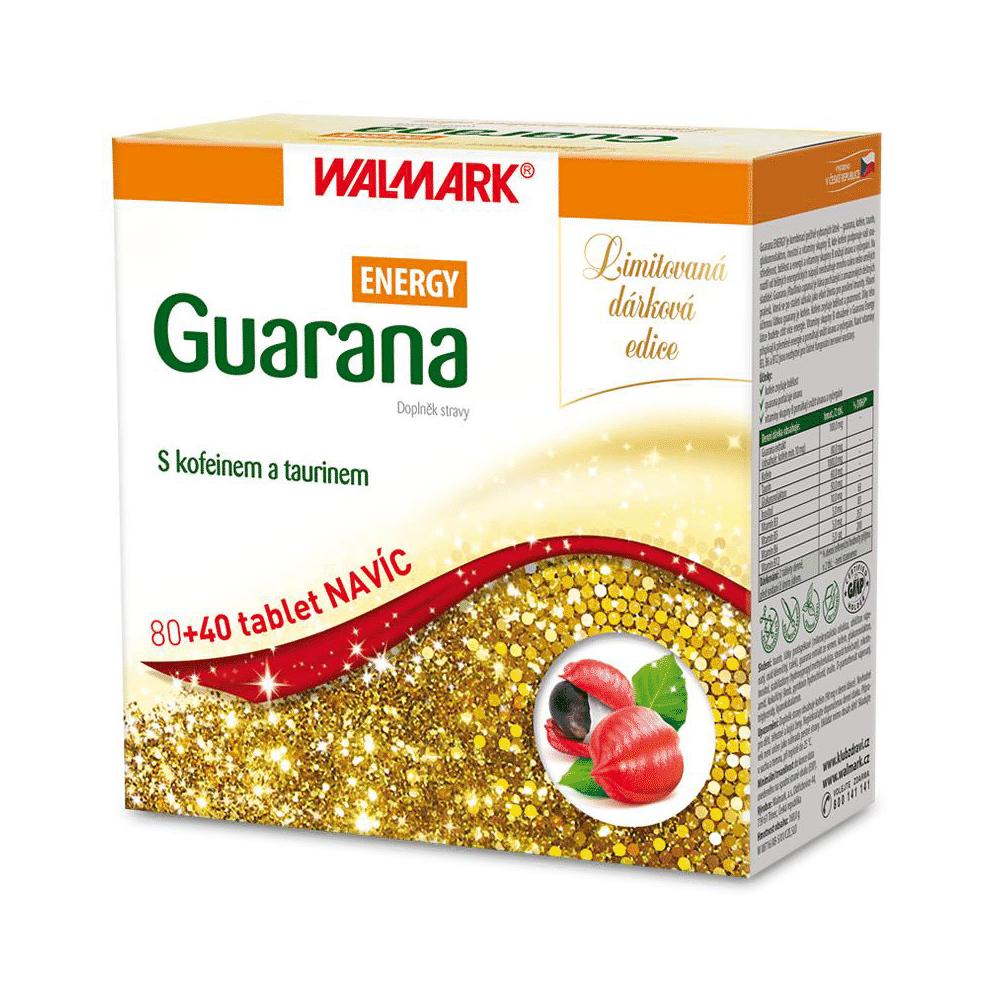 WALMARK Guarana Energy 80 + 40 tablet ZDARMA