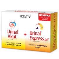 IDELYN Urinal Akut + Urinal Express pH