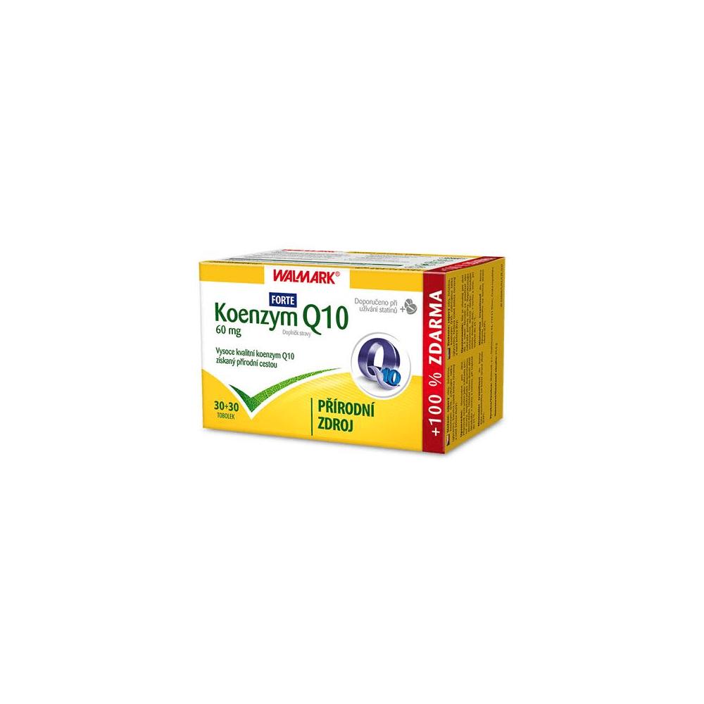 WALMARK Koenzym Q10 60 mg 30+30 tablet ZDARMA