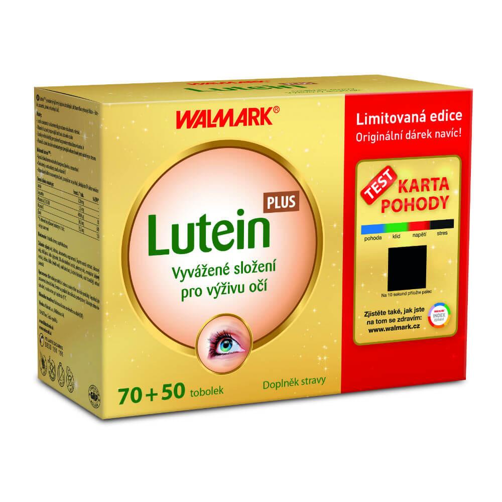 WALMARK Dárkové balení Lutein Plus 70+50 tobolek
