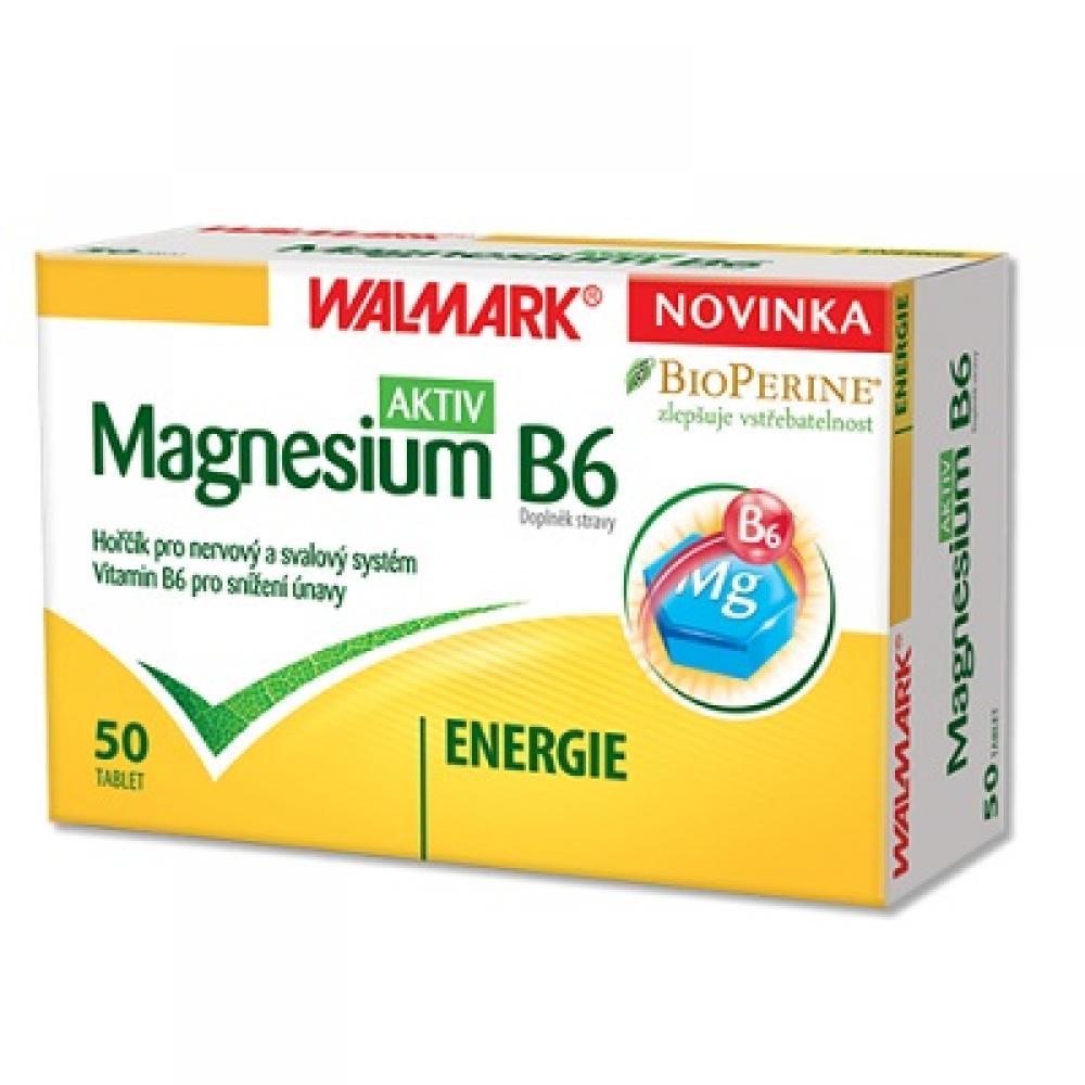 WALMARK Magnesium B6 AKTIV 50 tablet