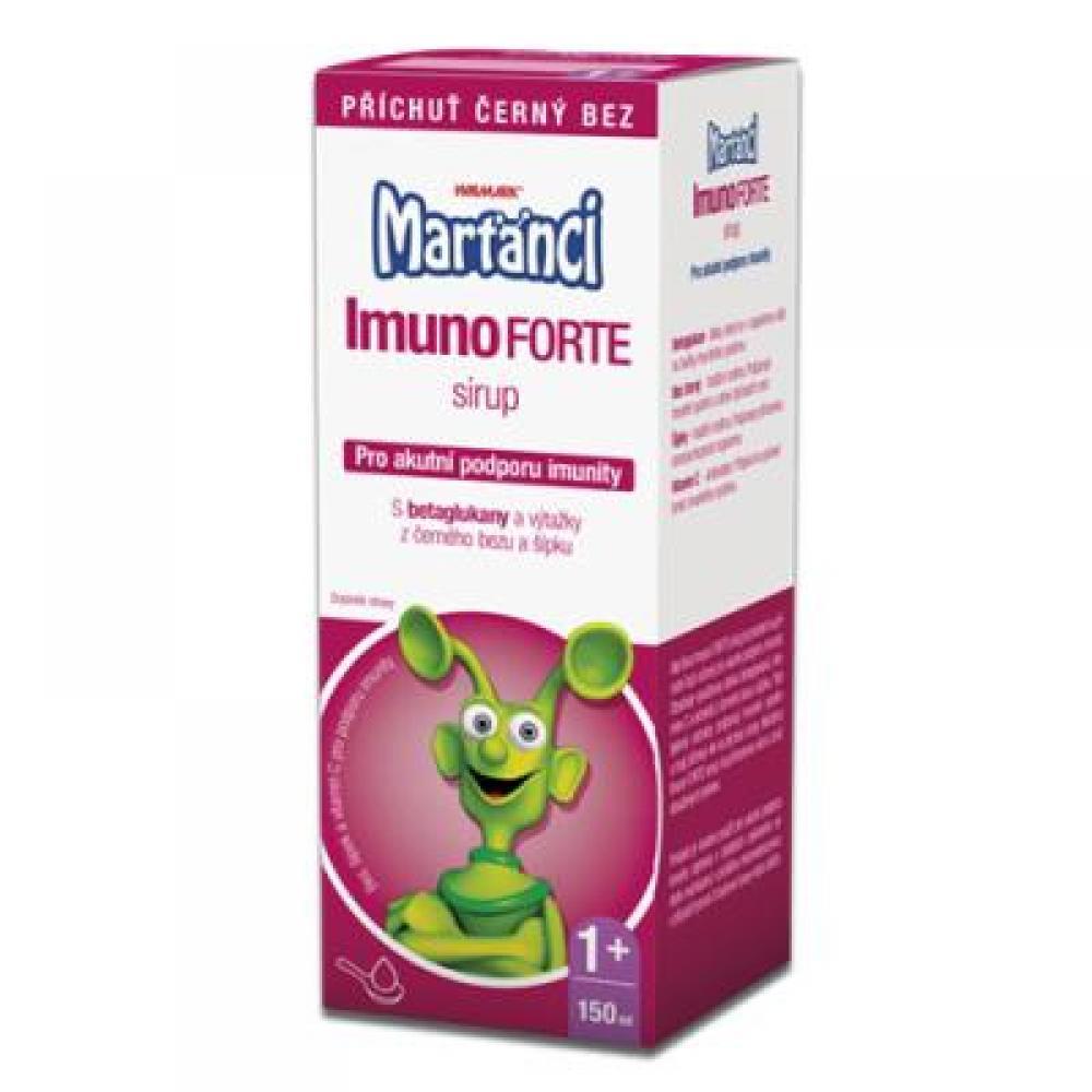 WALMARK Marťánci Imuno FORTE Sirup 150 ml