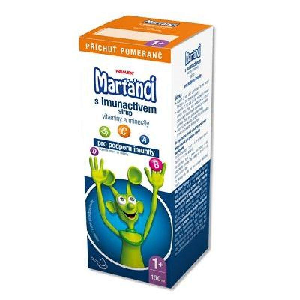 WALMARK Marťánci s Imunactivem sirup 150 ml