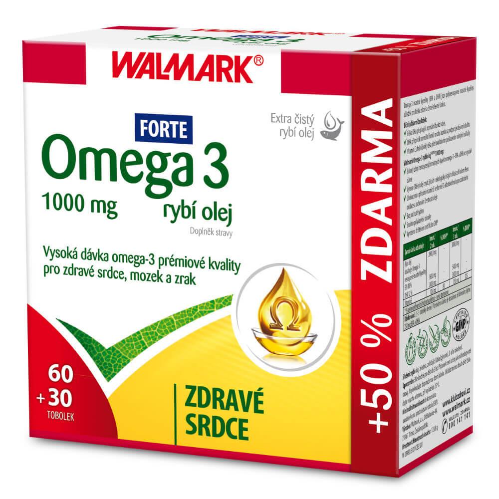 WALMARK Omega 3 Forte 60+30 tobolek